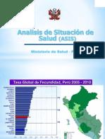 Analisis de Situacion de Salud Nacional
