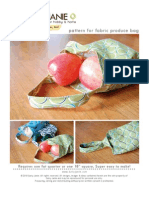 Fabric Produce Bag Pattern