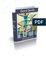 How To Become An Expert Speaker