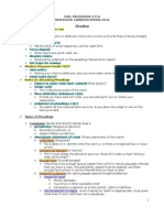 Civil Procedure II - Cameron - 2010 Friedenthal text