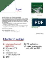 Ch02 Application Layer Rev 08032013