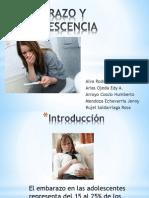 Embarazo y Adolescencia Ssrr Expo