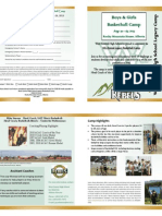 Legacy Camp Brochure 2013
