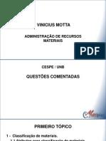 CESPE Exerc Adm Recursos Materiais Vinicius Motta Completa 1