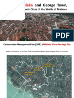Conservation Management Plan of Melaka World Heritage Site