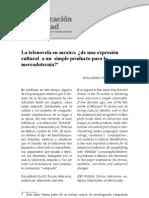 La telenovela en mexico- ¿de una expresión  cultural a un simple producto para la  mercadotecnia?*.pdf