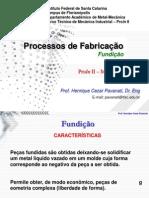 02 - Processos de Fabricação - Fundição (COMPLETA)