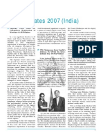 Update 2007 India