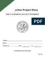 Sa Construction Daily Diary