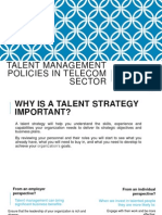 Talent Management Practices for Telecom Sector in India