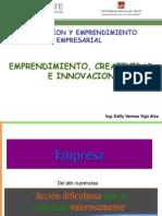 Emprendimiento Creatividad Innovacion Parte 1