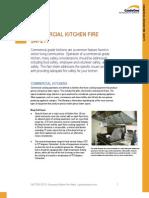 Kitchen fire suppression