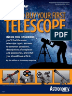 Astronomy Buying First Scope