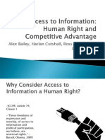 Access to Information GHR Report