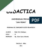 Trabajo de Didactica