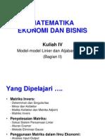 Kuliah IV Penerapan Matriks.ppt