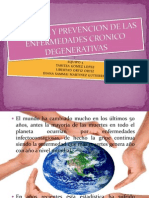 Control y Prevencion de Las Enfermedades Cronico Degenerativas