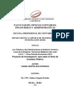 Informe Daniel Díaz