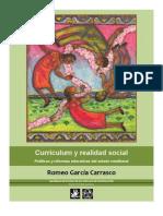 Romeo García Carrasco. Currículum y realidad social