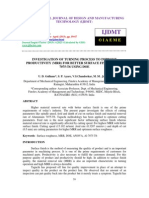 INVESTIGATION OF TURNING PROCESS TO IMPROVE PRODUCTIVITY _MRR_ FOR BETTER SURFACE FINISH OF AL.pdf