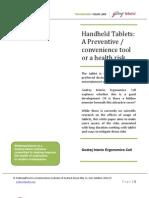 Handheld Tablets