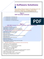 SAP Security & GRC training at Saraswat Software solutions
