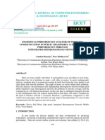 Statistical Performance Analysis of Wireless Communication in Public Transports