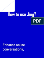 How to Use Jing? a sample tutorial