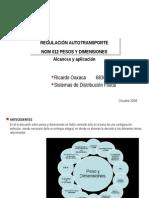 Autotransporte Regulaciones NOM 012 R Oaxaca Oct 08