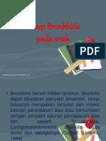 Askep Bronkhitis