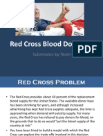 Red Cross Blood Donation Case