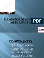APRESENTACAO FINAL Elementos de Maq Mesa Rotativa