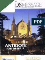 Pasugo Feb.2013 Vol.65 No.2 ''Anti-Dote for Despair'' - Copy