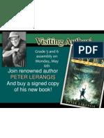 Peter Lerangis Book Signing
