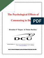 JURNAL DUBLIN Psychology of Commuting1