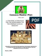 UNIDO Cassava Masterplan