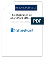 Configuration de SharePoint 2013 (tuto de A à Z)