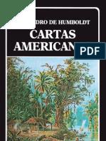 Humboldt, Alejandro de. Cartas Americanas