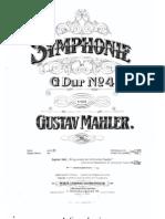 Mahler - 4ª Sinfonía - 2 pianos
