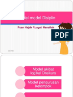 Model Model Disiplin