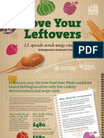 Love Your Leftovers Cook Book