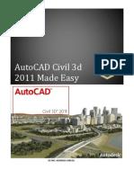 Fundamentals of Autocad Civil 3d 2011