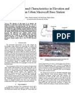 Directional Channel Characteristics in Elevation and Azimuth at an Urban Macrocell Base Station