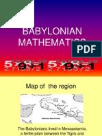 Matematik Babylon