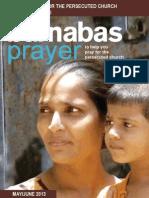 Prayer Diary May/June 2013