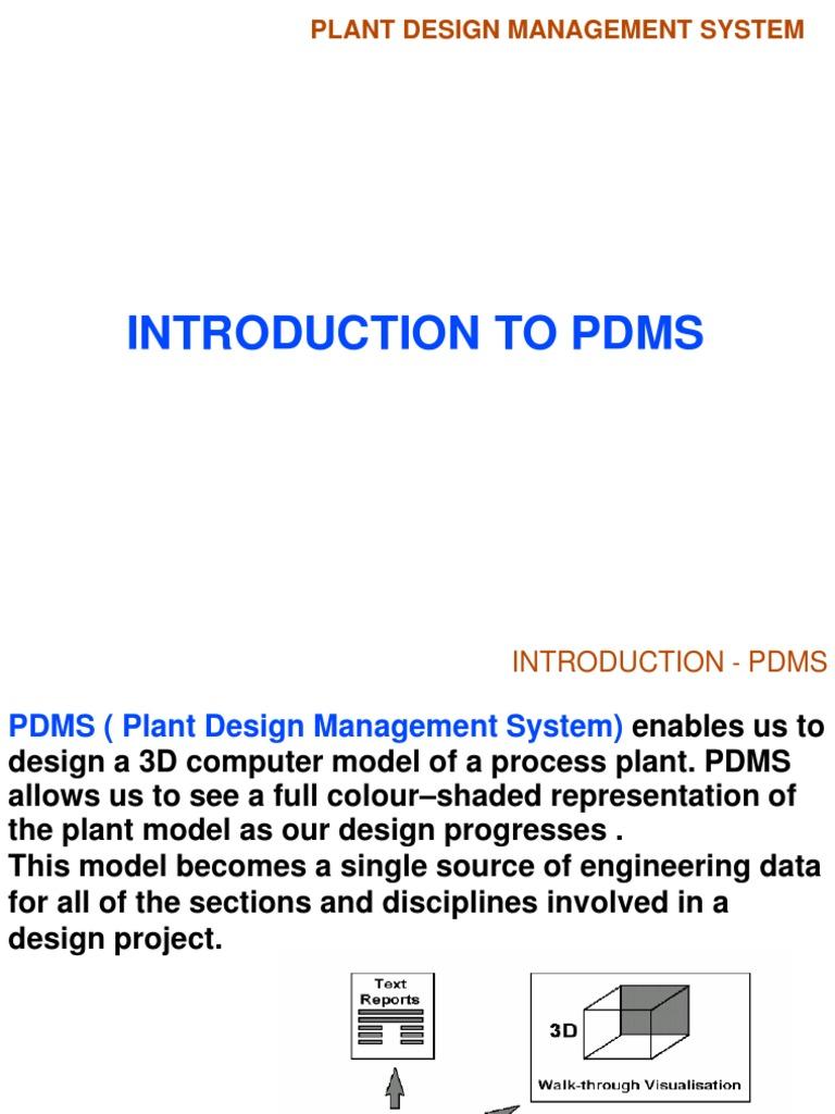 Pdms Modeling 3 D Modeling Design