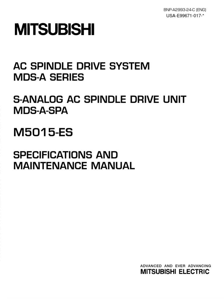 PDF Meldas Spindle Unit Manual