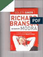Des Dearlove-Üzleti siker Richard Branson módra