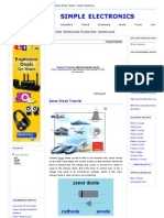 Zener Diode Tutorial _ Simple Electronics