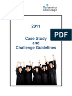 2011 University Challenge Case Study and Challenge Guidelines